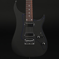 Vigier Excalibur Indus Fixed Bridge in Textured Black, Rosewood Neck with Hard Case