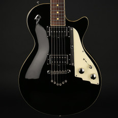 Duesenberg 49er Solid Body in Black with Case - Used