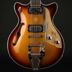Duesenberg Alliance Series Joe Walsh Signature Model in Gold Burst with OHSC