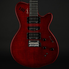 Godin xtSA Leaf Top in Trans Red with Gigbag (B-Stock)