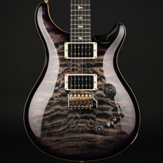 PRS Wood Library Custom 24-08 in Charcoal Purple Burst with Pattern Thin Neck, 85/15 Pickups #232049