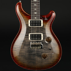 PRS Custom 24 2017 in Burnt Maple Leaf with Pattern Thin Neck, 85/15 Pickups #235354