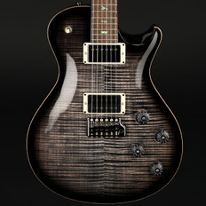 PRS Tremonti Wood Library in Charcoal Contourburst with Stained Flame Maple Neck, Ziricote Fingerboard, Black Hardware #235536
