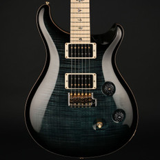 PRS Custom 24 10 Top in Custom Colour Blue with Pattern Thin Maple Neck, 85/15 Pickups #237843
