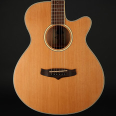 Tanglewood TW9 Super Folk Cutaway Electro Acoustic Guitar in Natural