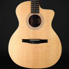 Taylor 114ce-N Nylon Classical Grand Auditorium Cutaway, ES-N (2017) with Hard Bag