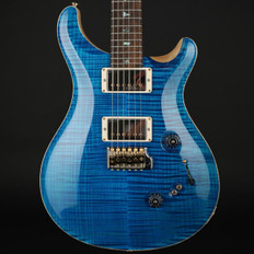 PRS Wood Library Custom 24-08 in Aquamarine with Pattern Thin Neck, 58/15MT Pickups #238276