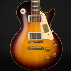 Gibson Custom Shop Les Paul Standard Plaintop VOS in Faded Tobacco #87123