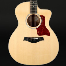 Taylor 214ce-K DLX Deluxe Koa Grand Auditorium Cutaway, ES2 with Case #2104287383