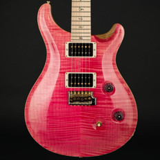 PRS Custom 24 Swamp Ash Ltd in Bonnie Pink with Pattern Thin Maple Neck, 85/15 Pickups #237125