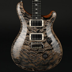 PRS Custom 24 Ltd in Charcoal Quilt with Pattern Thin Neck, 58/15 Pickups #241883
