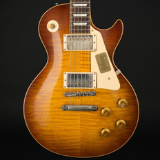 Gibson Custom Shop Les Paul Standard Figured Top VOS in Iced Tea #97552