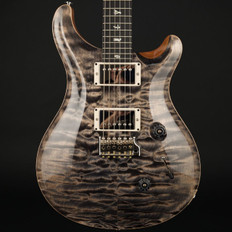 PRS Custom 24 Ltd in Charcoal Quilt with Pattern Thin Neck, 58/15 Pickups #244171