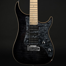 Vigier Excalibur Special in Mysterious Black, Maple with Hard Case #160133
