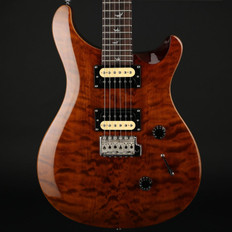 PRS SE 30th Anniversary Custom 24 in Chestnut Quilt Top with Gigbag - Pre-Owned #O23774