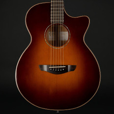 Faith Venus FVSB45 Cutaway High Gloss Electro Acoustic in Classic Burst, 45mm Nut with Hard Case
