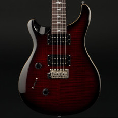 PRS SE Custom 24 Left-Handed in Fire Red Burst