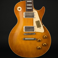 Gibson Custom Shop '58 Les Paul Standard Plaintop VOS in Dirty Lemon #871165