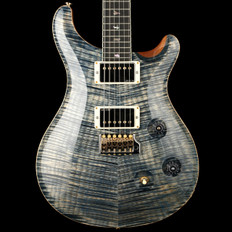 PRS Custom 24 58/15 Limited Edition in Faded Whale Blue with Pattern Regular Neck #220605 - Pre-Owned