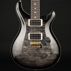 PRS Custom 24 10 Top in Charcoal Burst with Stained Flame Maple Neck, 85/15 Pickups #244806