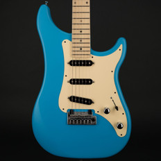 Vigier Expert Classic Rock in Normandie Blue Matt with Case - Pre-Owned