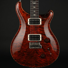 PRS Custom 22 10 Top Quilt in Orange Tiger with Rosewood Neck #204123 - Pre-Owned