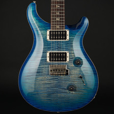 PRS Custom 24 10 Top in Blue Burst with Pattern Thin Neck, 59/09 Pickups #190162 - Pre-Owned