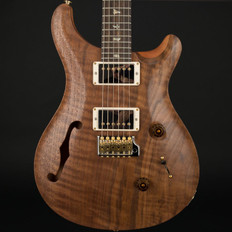 PRS Wood Library Limited Edition Custom 24 Semi-Hollow with Figured Walnut Top in Natural Satin #248062