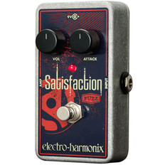 Electro Harmonix Satisfaction Fuzz Classic Fuzz Tone Pedal