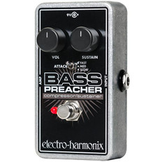 Electro Harmonix Bass Preacher Bass Compressor/Sustainer Pedal for Bass