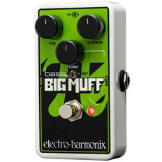 Electro Harmonix Nano Bass Big Muff Pi Distortion/Sustainer Pedal