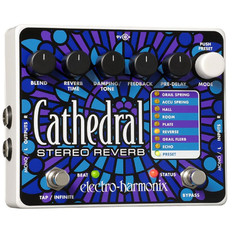 Electro Harmonix Cathedral Deluxe Stereo Reverb Pedal