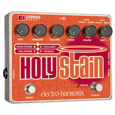 Electro Harmonix Holy Stain Distortion/Reverb/Pitch/Tremolo Multi-Effect Pedal