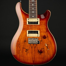 PRS SE Custom 24 Exotic Top in Spalted Maple/Vintage Sunburst #S01437