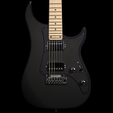 Vigier Excalibur Indus in Textured Black, Maple Neck with Hard Case