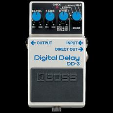 Boss DD-3 Digital Delay Guitar Effects Pedal