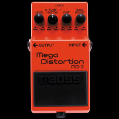 Boss MD-2 Mega Distortion Guitar Effects Pedal