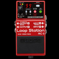 Boss RC-3 Loop Station Compact Looper Pedal