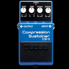 Boss CS-3 Compression/Sustainer Guitar Effects Pedal