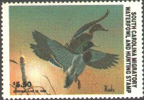 South Carolina Duck Stamp 1982 Mallards