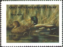 Ohio Duck Stamp 1994 Mallards