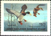 Ohio Duck Stamp 1983 Mallards
