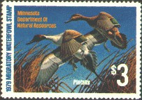 Minnesota Duck Stamp 1979 Pintails