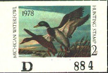 Michigan Duck Stamp 1978 Mallards