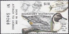 Maryland Duck Stamp 1980 Pintail Decoy