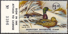 Maryland Duck Stamp 1974 Mallards