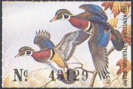 Kentucky Duck Stamp 1986 Wood Ducks