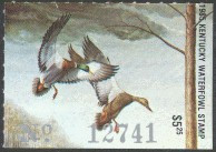 Kentucky Duck Stamp 1985 Mallards