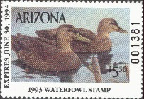 Arizona Duck Stamp 1993 Mexican Duck