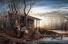 Morning Retreat - Elite / Open Edition by Terry Redlin